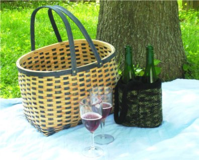 Double Barrel Go-Too Bag picnic