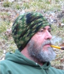 Dad's Hunting Camo Beanie by Color ME Crazy LLC